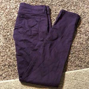Flying monkey size 11 purple jeans pants Skinny